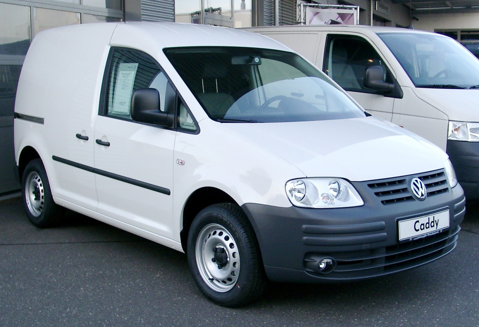 File:VW Caddy front 20080126.jpg - Wikimedia Commons