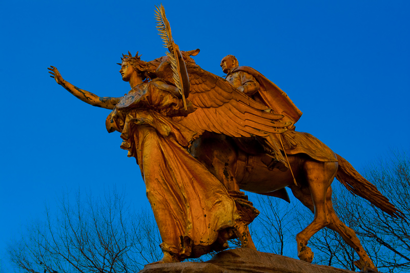 Victory leading Sherman, Central Park, NYC.jpg