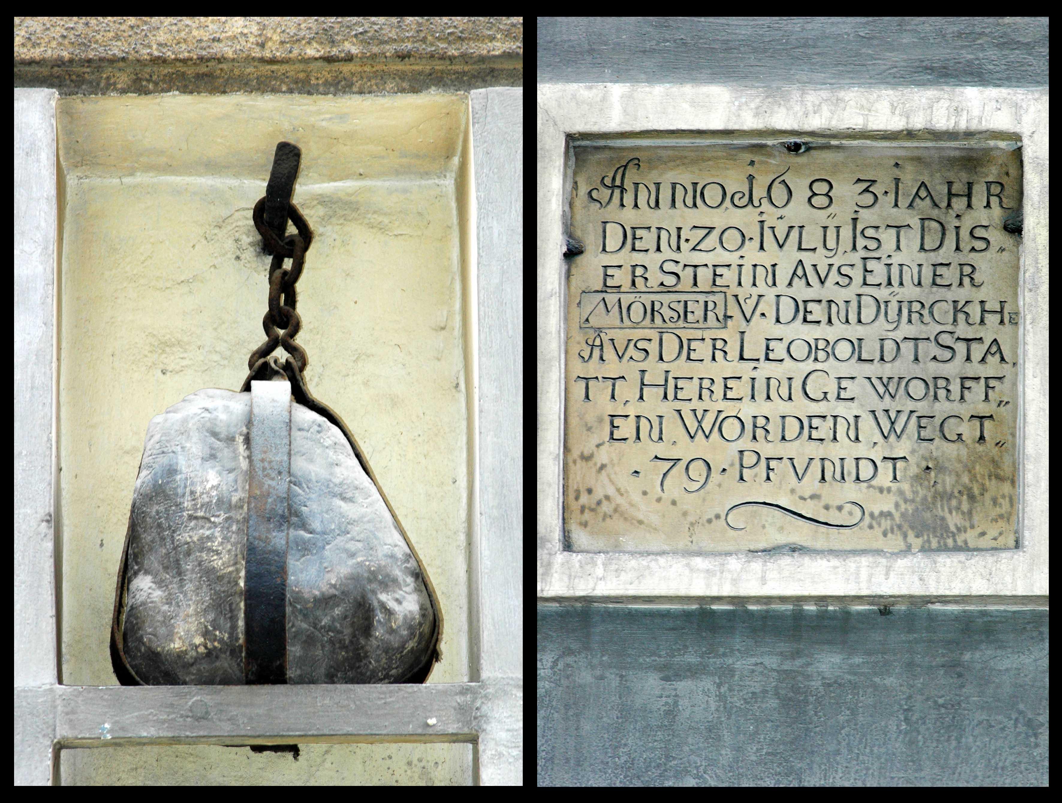 Vienna - Sterngasse Nr.3 Gedenktafe anno 1683.jpg