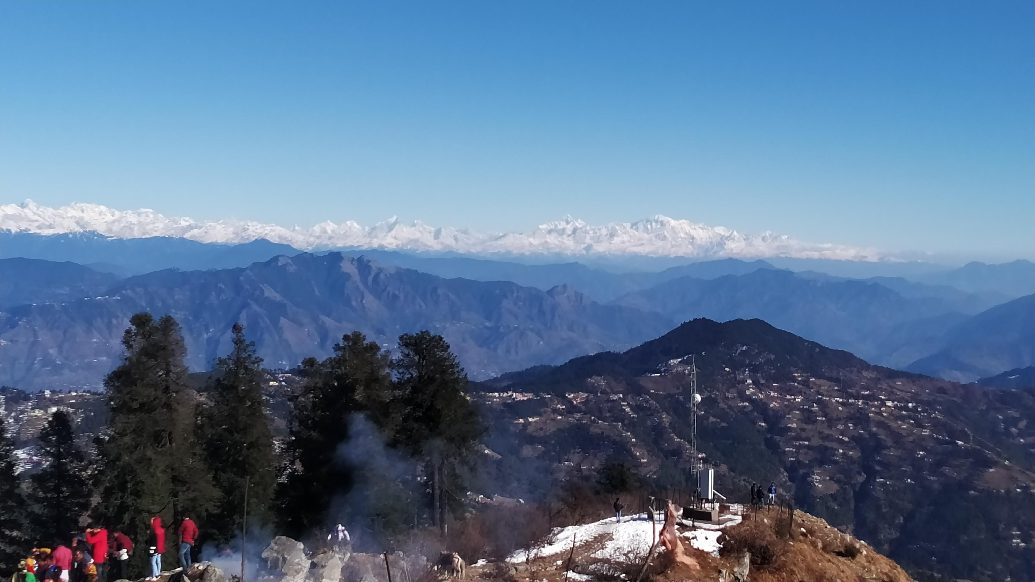 View from Surkanda Devi Temple