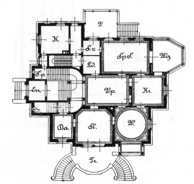 file villa w lker karl tauchnitz stra e nr 15 oder 31 in leipzig erbaut 1888 architekt max. Black Bedroom Furniture Sets. Home Design Ideas