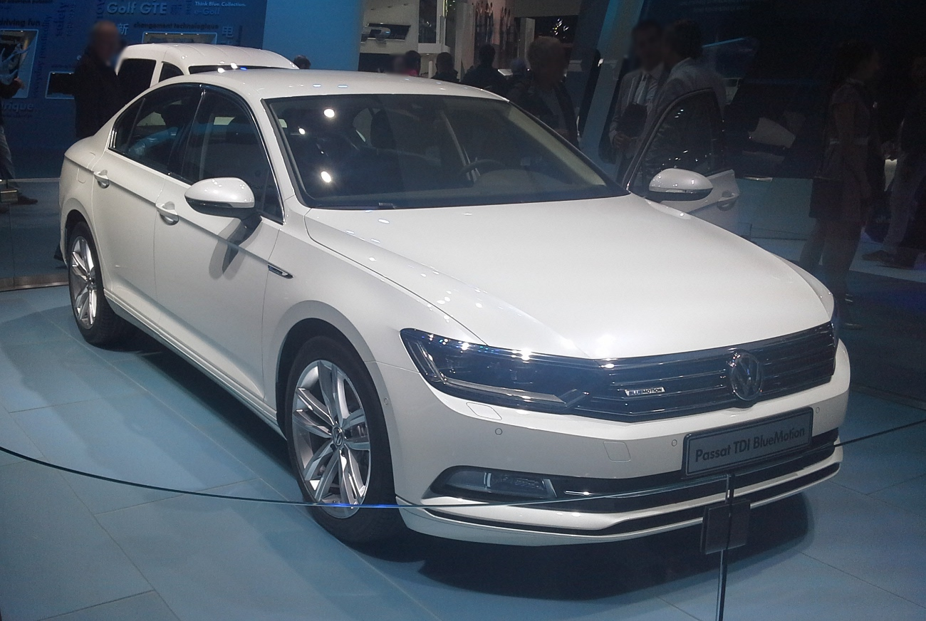 File Volkswagen Passat B8 01 Mondial De L Automobile 2014