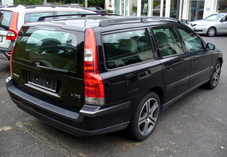 Volvo V Vorfacelift Schwarz Heck