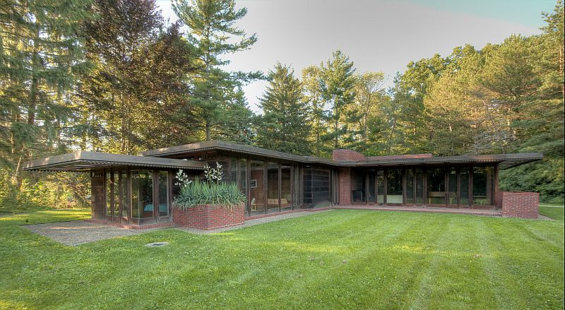 Weltzheimer johnson house wikipedia for Frank lloyd wright usonian home plans