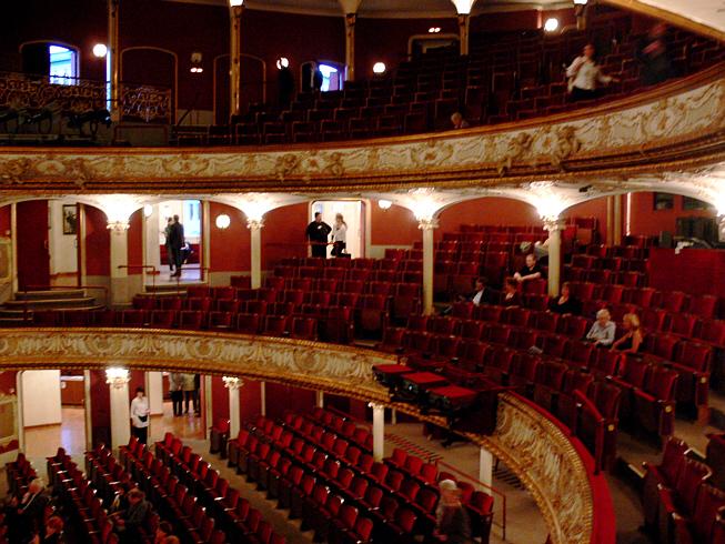 Najlepša pozorišta sveta Wien_Volkstheater_Zuschauerraum_2