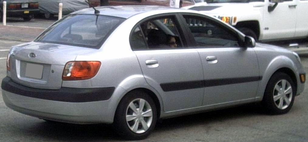 06 Kia Rio Sedan Rear Jpg