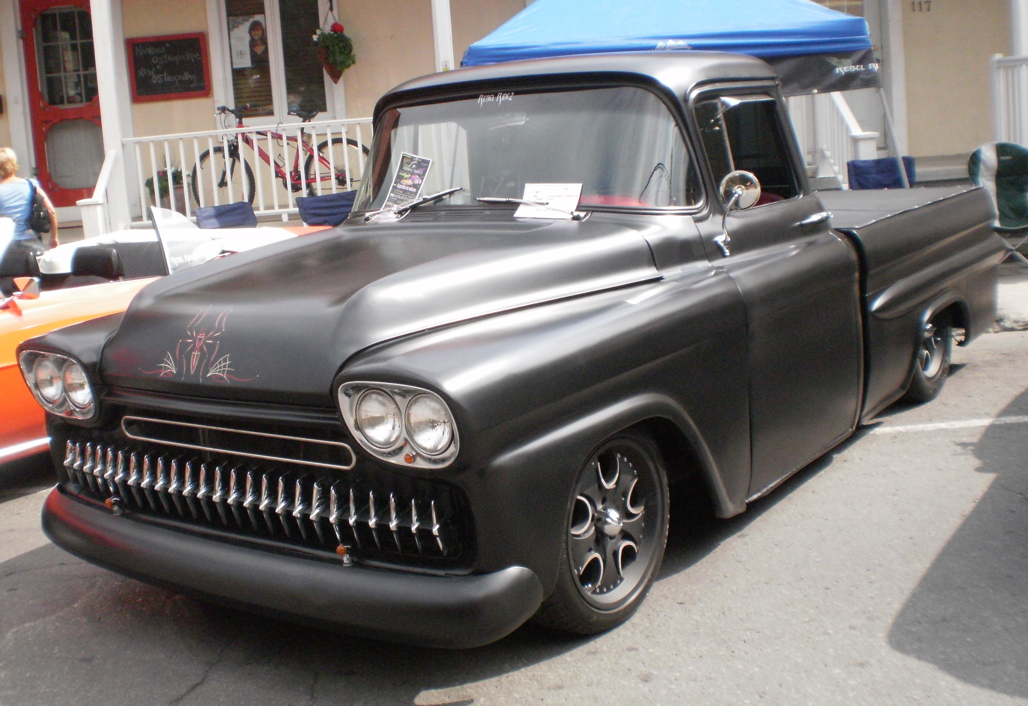 58 and 59 chevy apache trucks work trucks that turned into classics