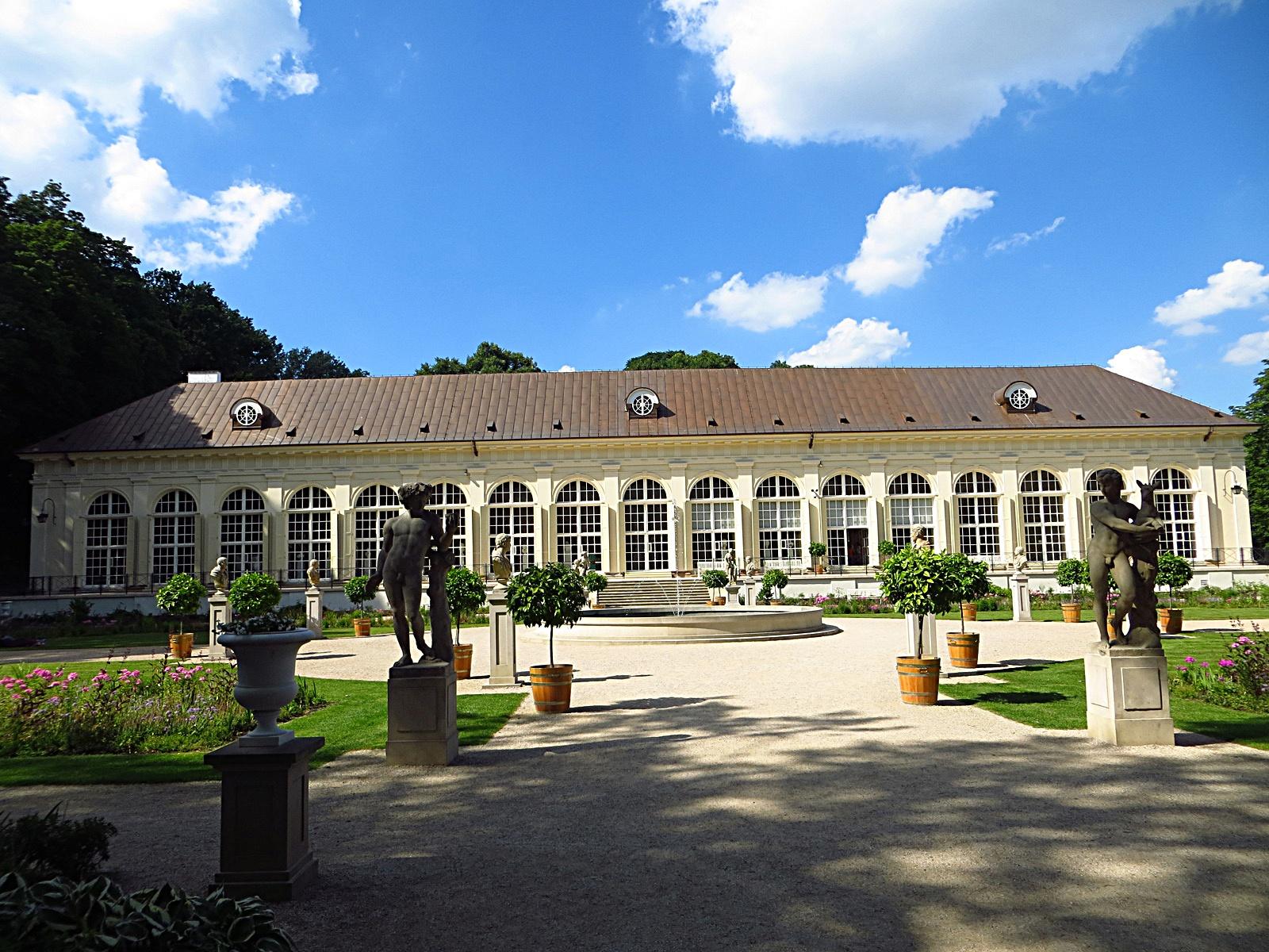 Filełazienki Królewskie Stara Pomaranczarnia Panoramio