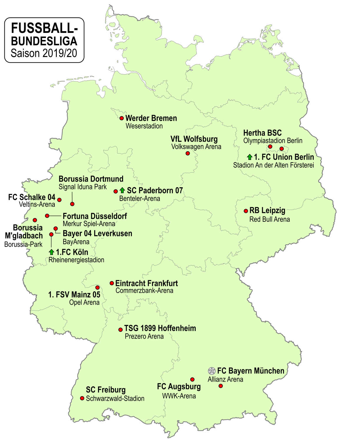 Fussball Bundesliga 2019 20 Wikipedia