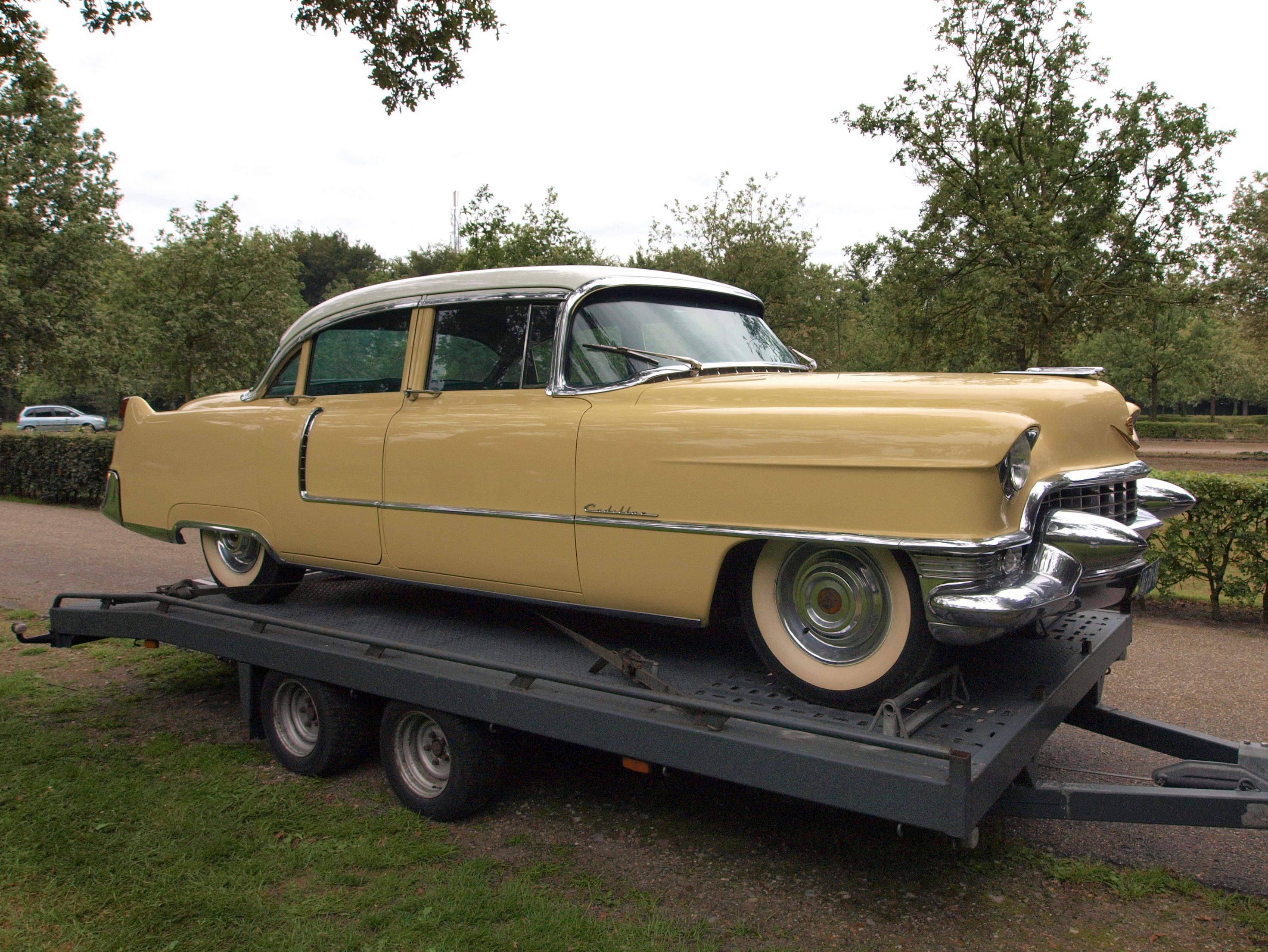 File 1955 Cadillac Fleetwood Dutch Licence Registration