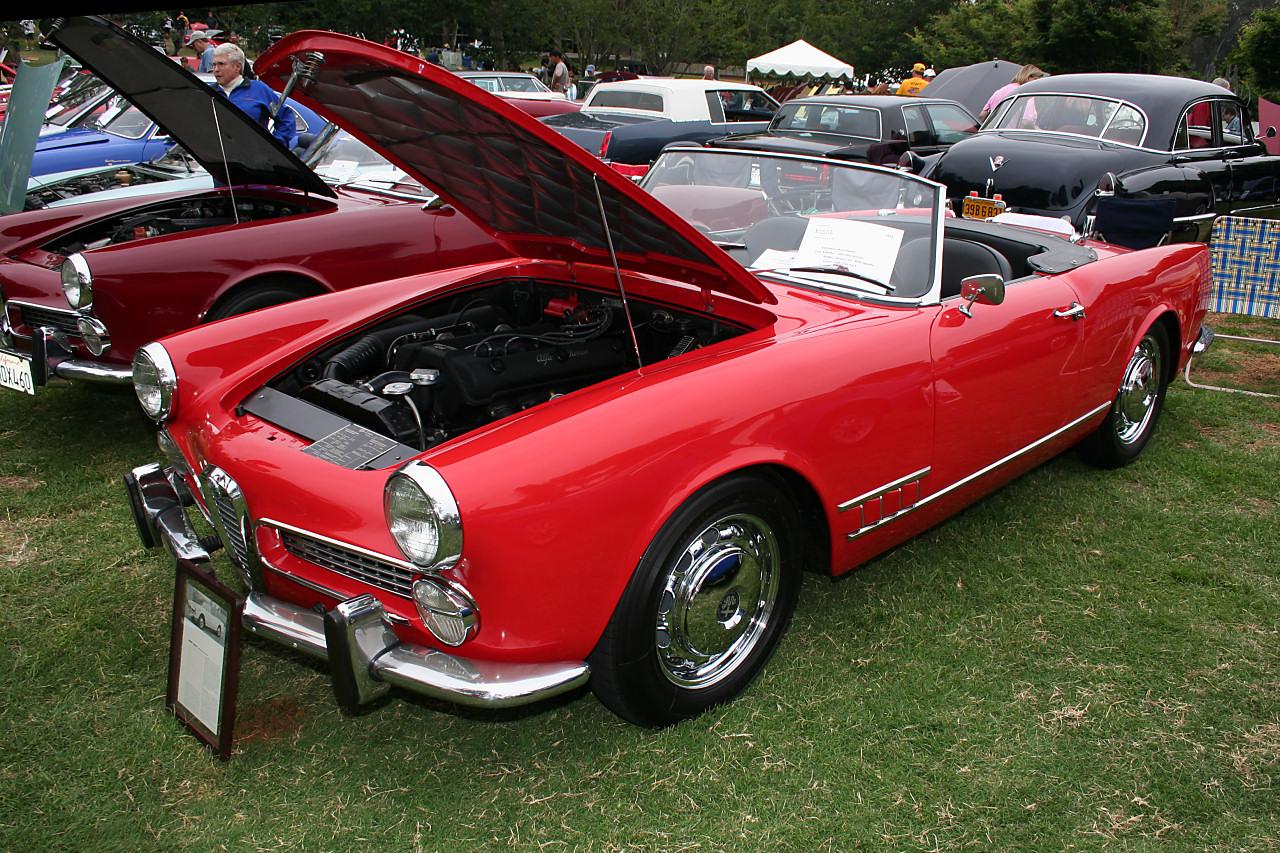 File 1961 Alfa Romeo Series 102 2000 Spider Red Fvl