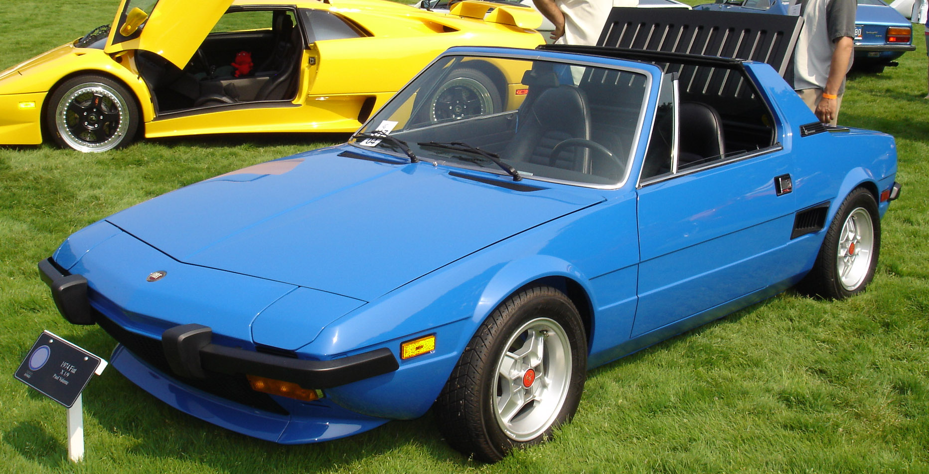 Fiat X1/9 - Wikipedia, the free encyclopedia