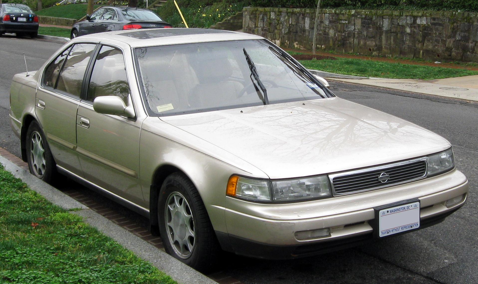 File19921994 Nissan Maxima  03212012JPG  Wikimedia Commons