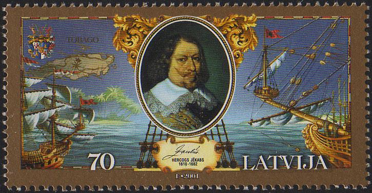 20011114 70sant Latvia Postage Stamp