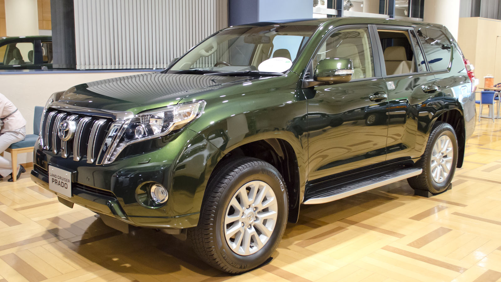 file 2013 toyota land cruiser prado wikimedia commons. Black Bedroom Furniture Sets. Home Design Ideas