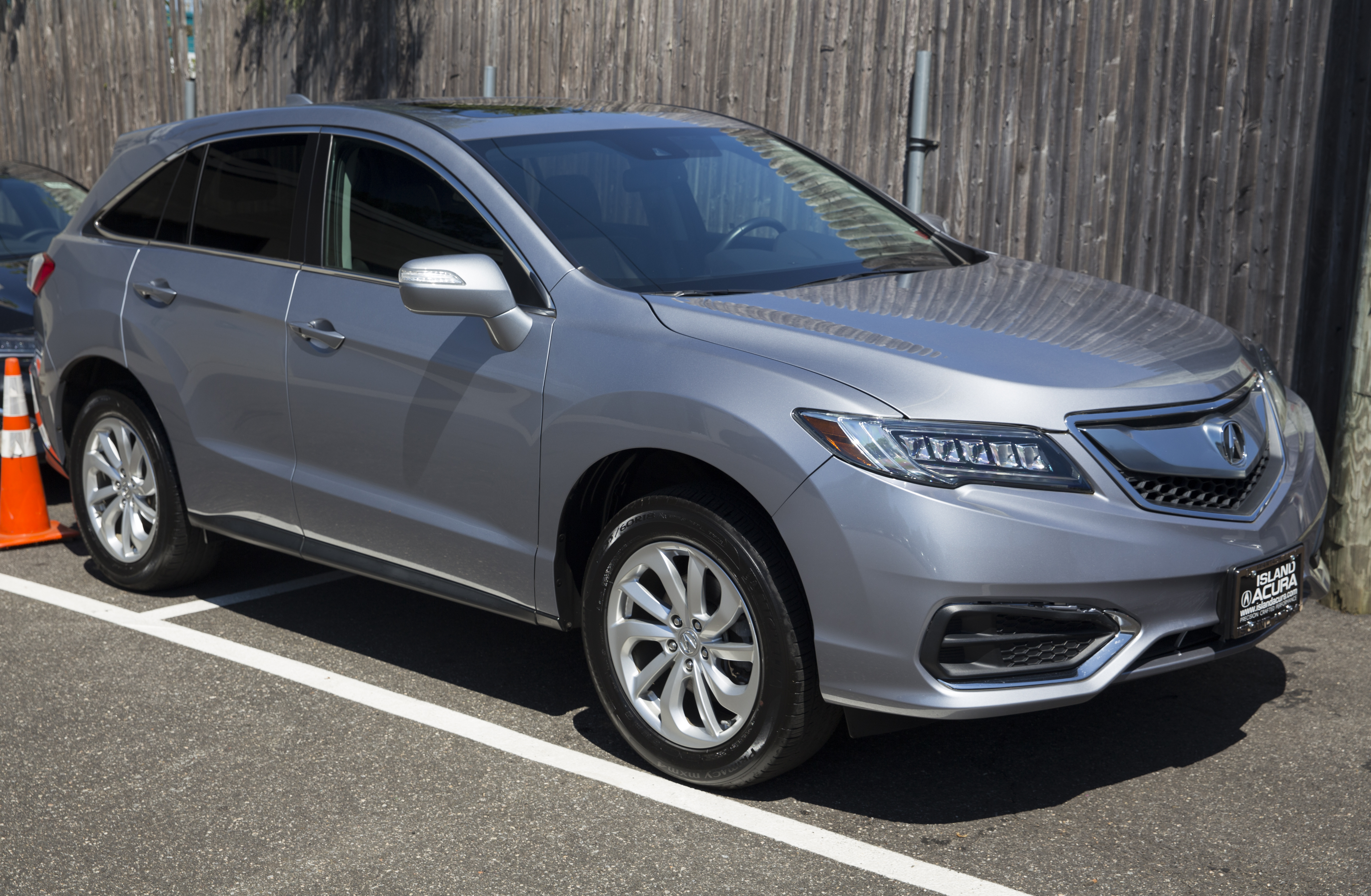 File 2016 Acura Rdx Slate Silver Met Front Right Jpg Wikimedia Commons