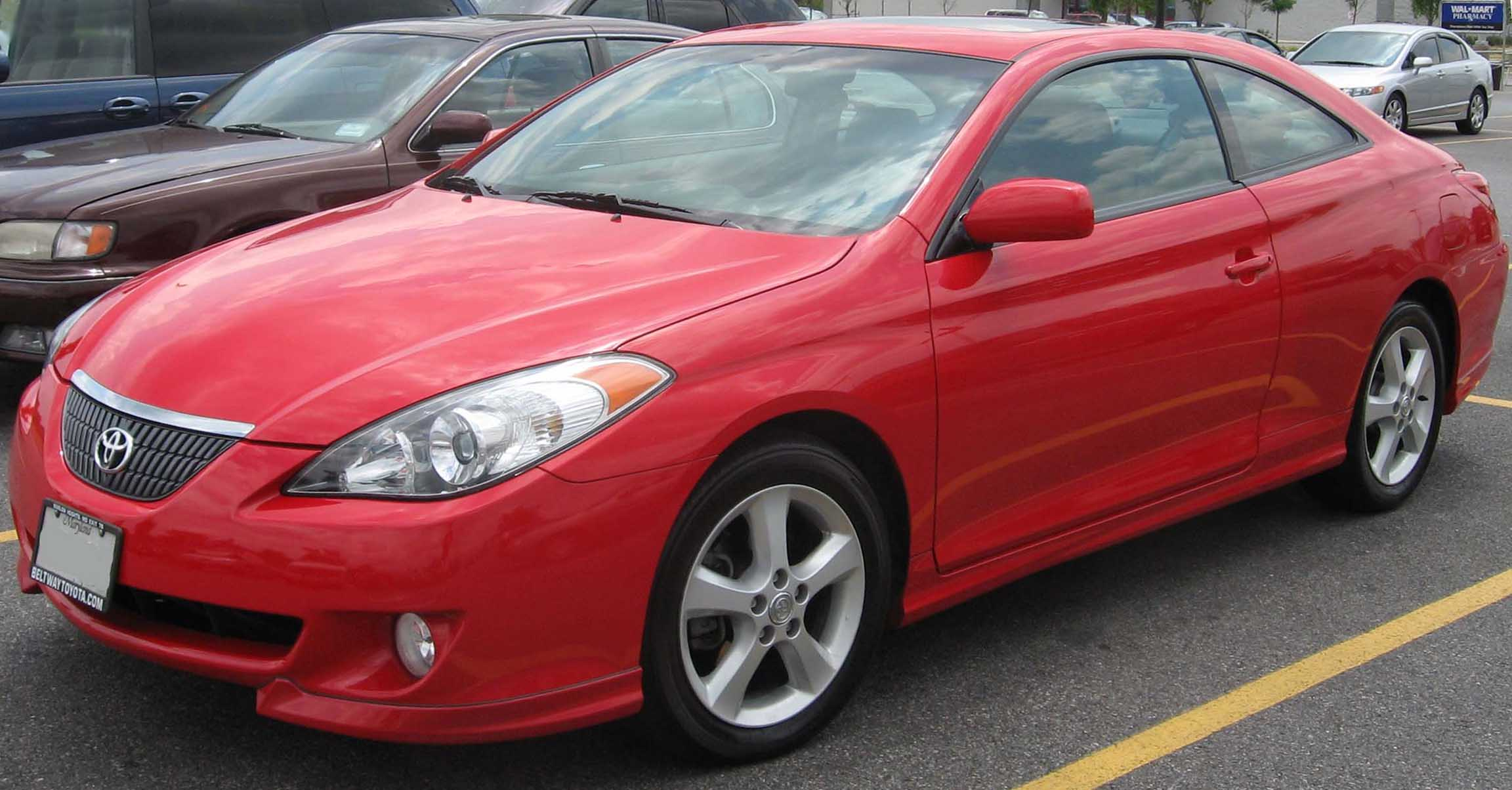 File 2nd Toyota Solara Jpg Wikimedia Commons