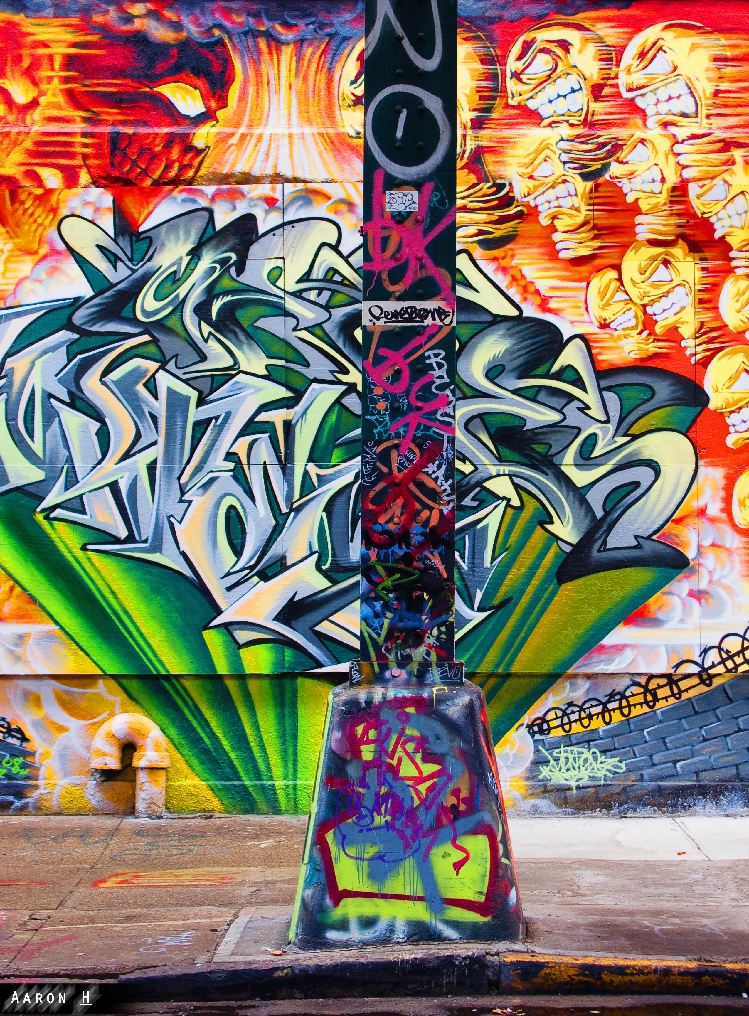 File5Pointz Graffiti Blaze