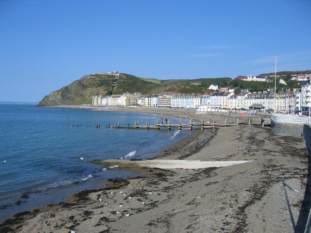 Aberystwyth seafront - geograph.org.uk - 243595