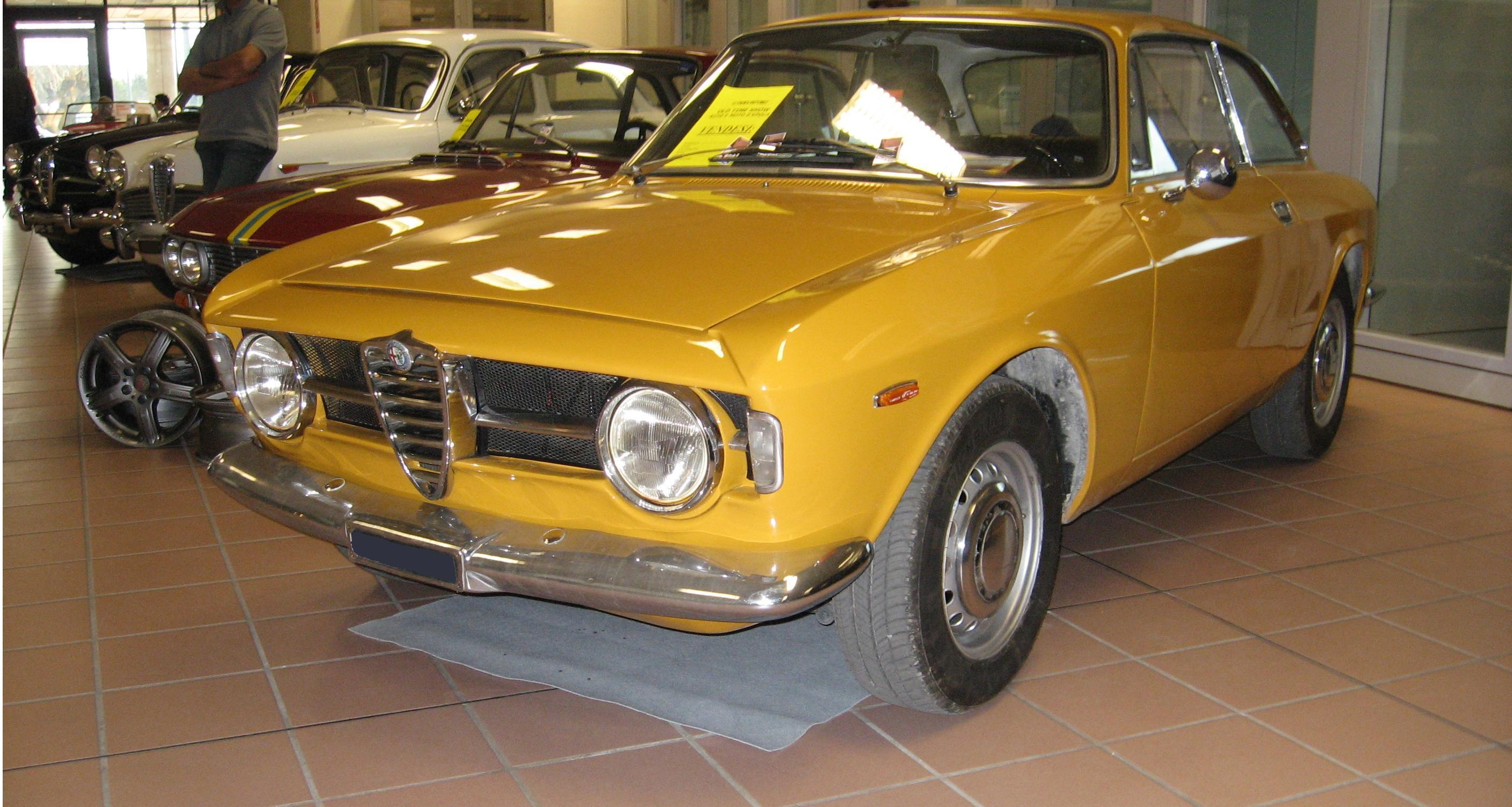 Alfa romeo gt junior scalino wikipedia