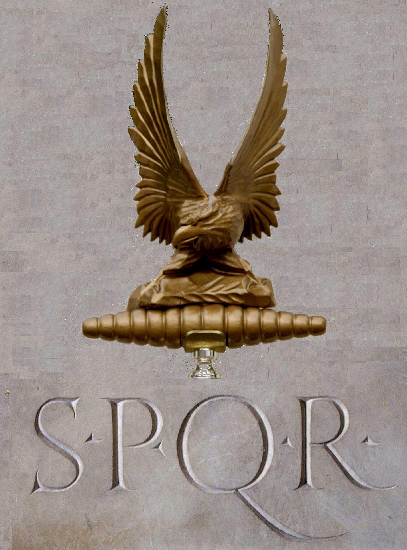 Roman legion eagle standard