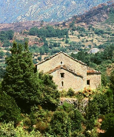 Chapelle Santa Maria d'Arca en 1995