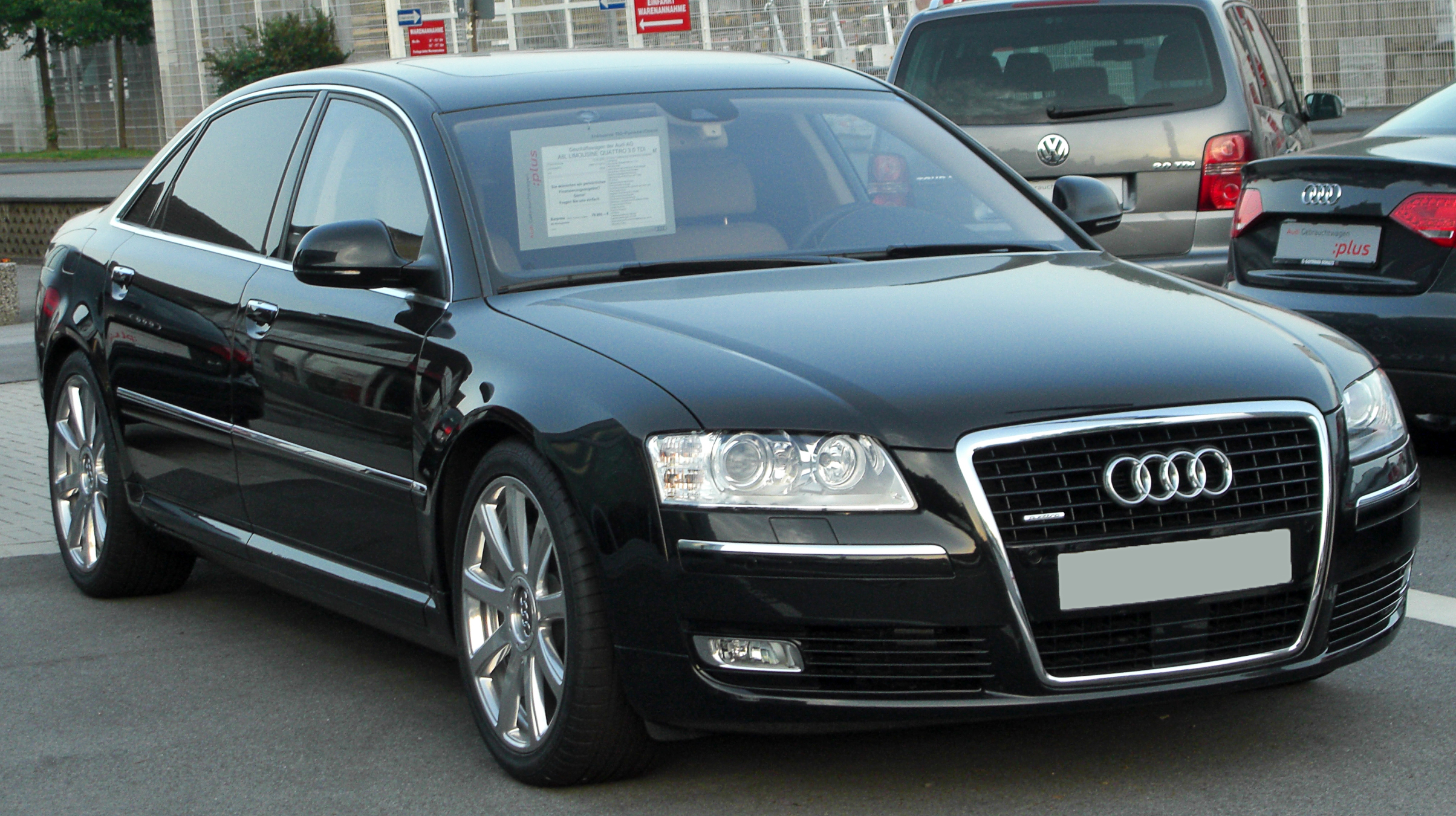 File:Audi A8 L 3.0 TDI quattro D3 II. Facelift front 20100710.jpg ...