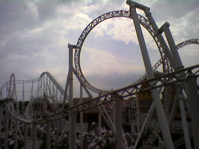 English: Roller coaster in Xetululu, Guatemala