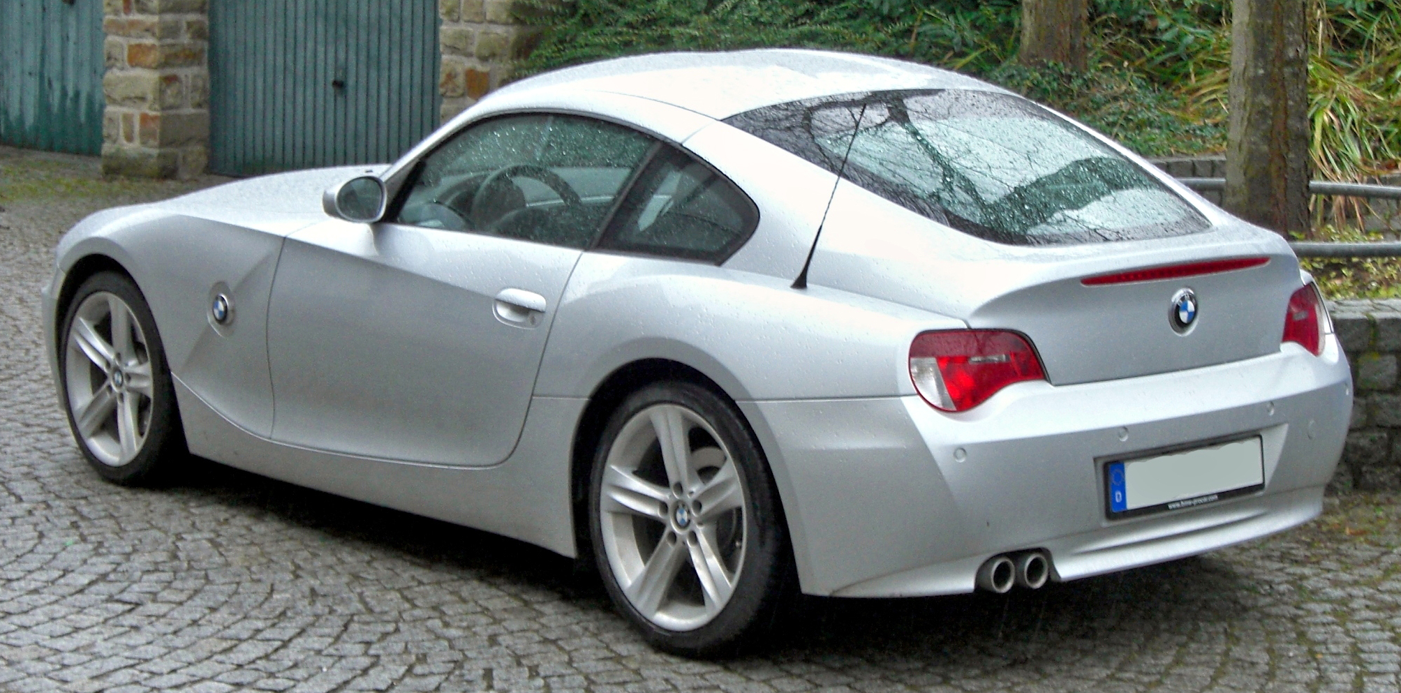 File Bmw Z4 Coup 233 Rear Jpg Wikimedia Commons