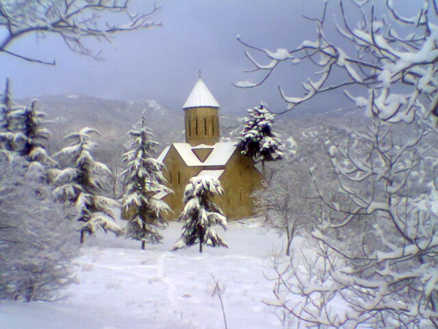 Foto von Road to Betania Monastery