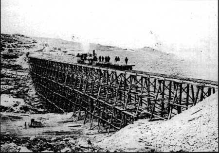 Last Major Bridge on the Transcontinental Railroad, near Promontory, Utah