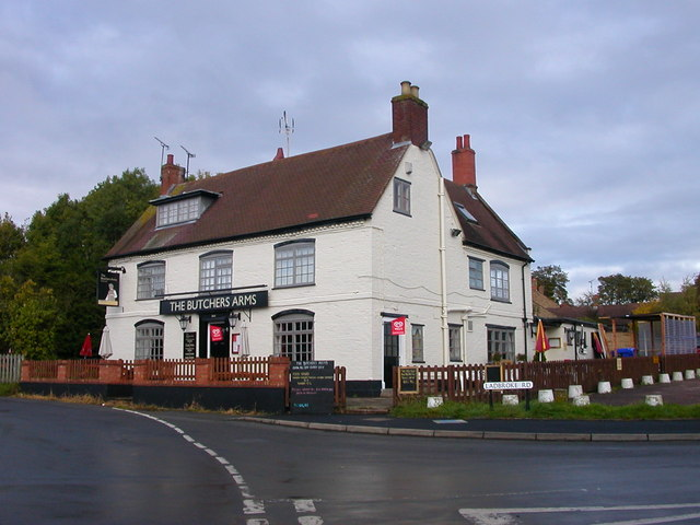 Bishop's Itchington-The Butchers Arms - geograph.org.uk - 2136333