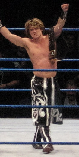 Kendrick as WWE Tag Team Champion in December 2006 Brian Kendrick.jpg