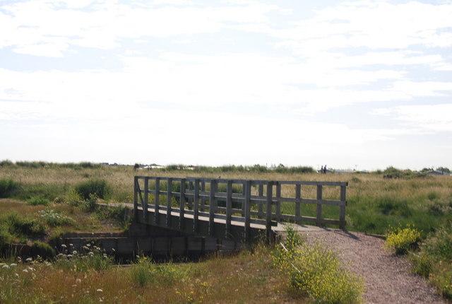 Bridge on the Saxon Shore Way - geograph.org.uk - 1457220
