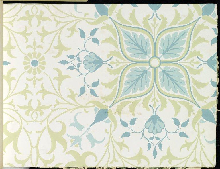 File:Brooklyn Museum - Wallpaper Sample Book 1 - William Morris ...
