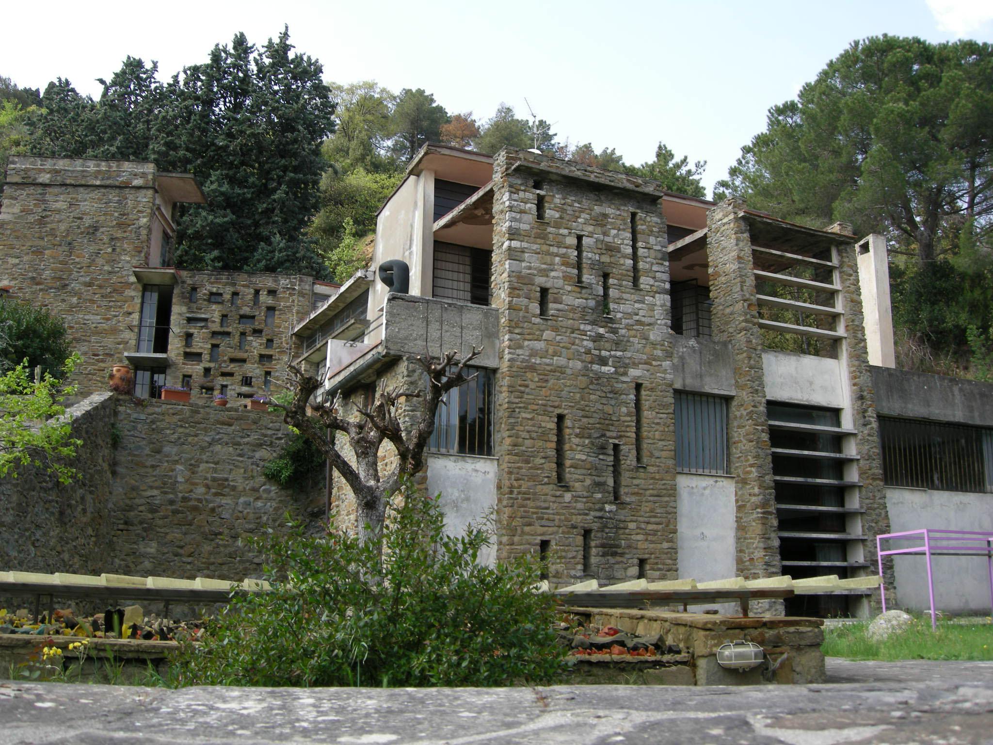 File casa studio di leonardo ricci 04 jpg wikipedia - Ricci casa milano ...