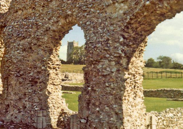 Castle Acre Priory, Castle Acre, Norfolk - geograph.org.uk - 687676