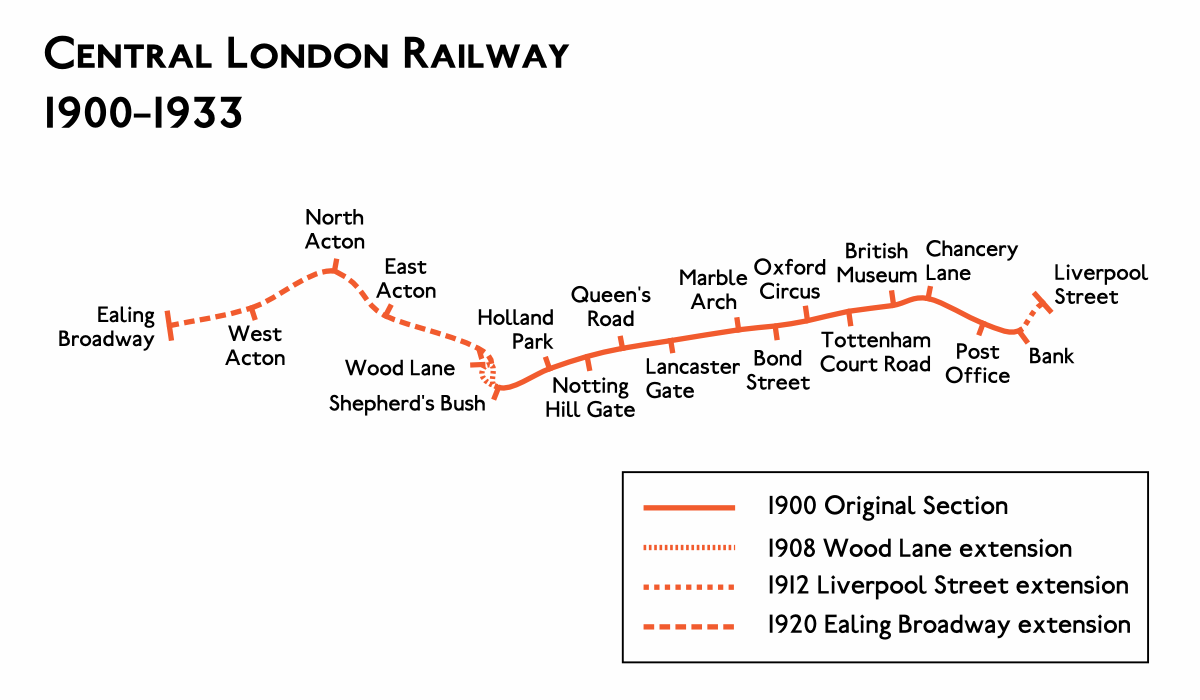 Central London Railway  Wikipedia