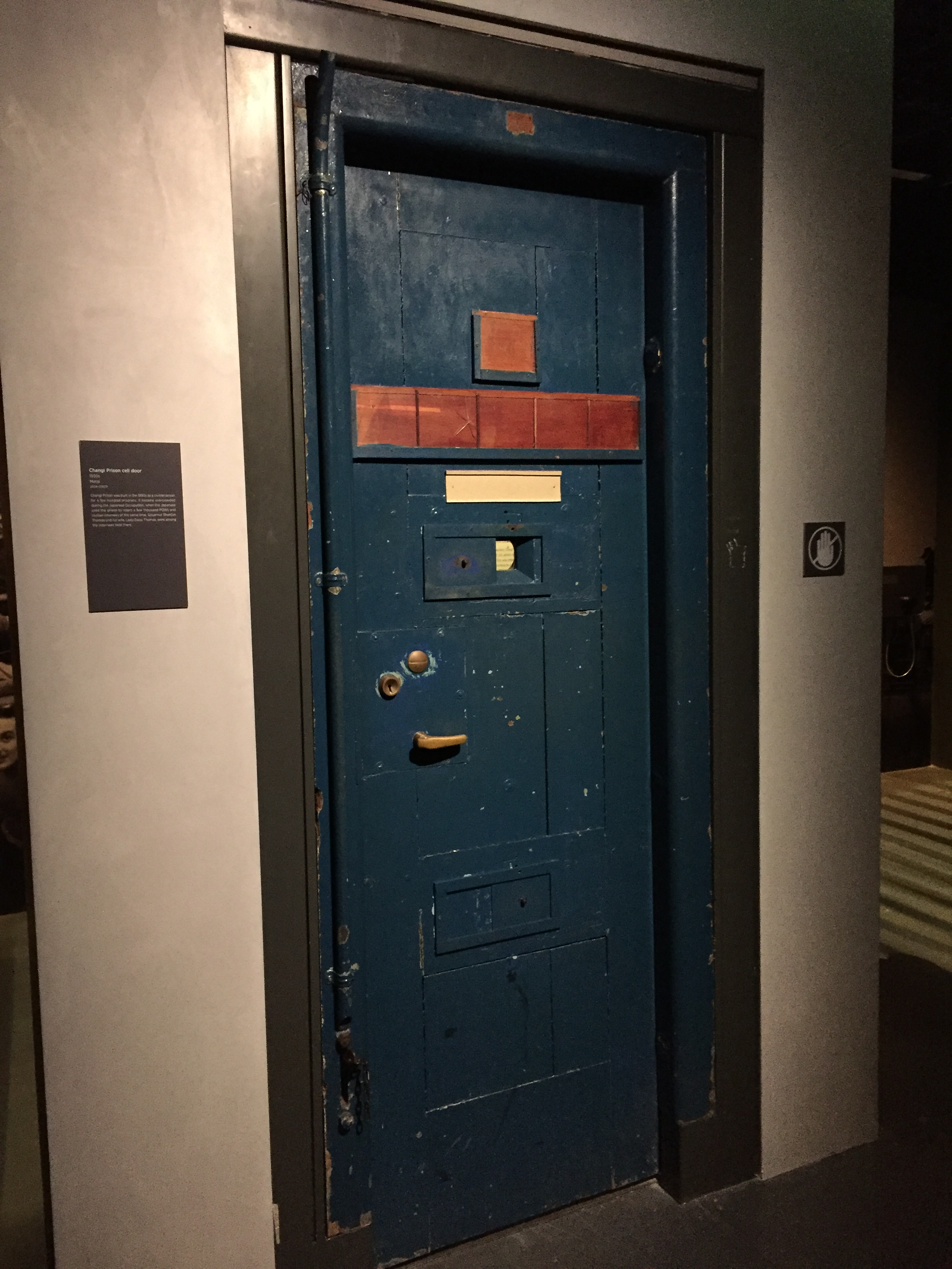 FileChangi Prison cell door (exterior) Singapore History Gallery National Museum & File:Changi Prison cell door (exterior) Singapore History Gallery ...