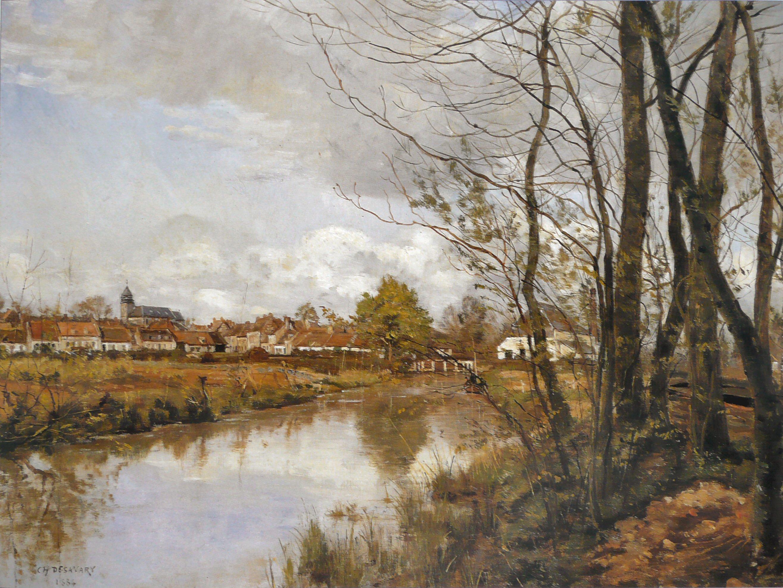 Charles Desavary - Saint-Nicolas, le moulin Gheerbrant,