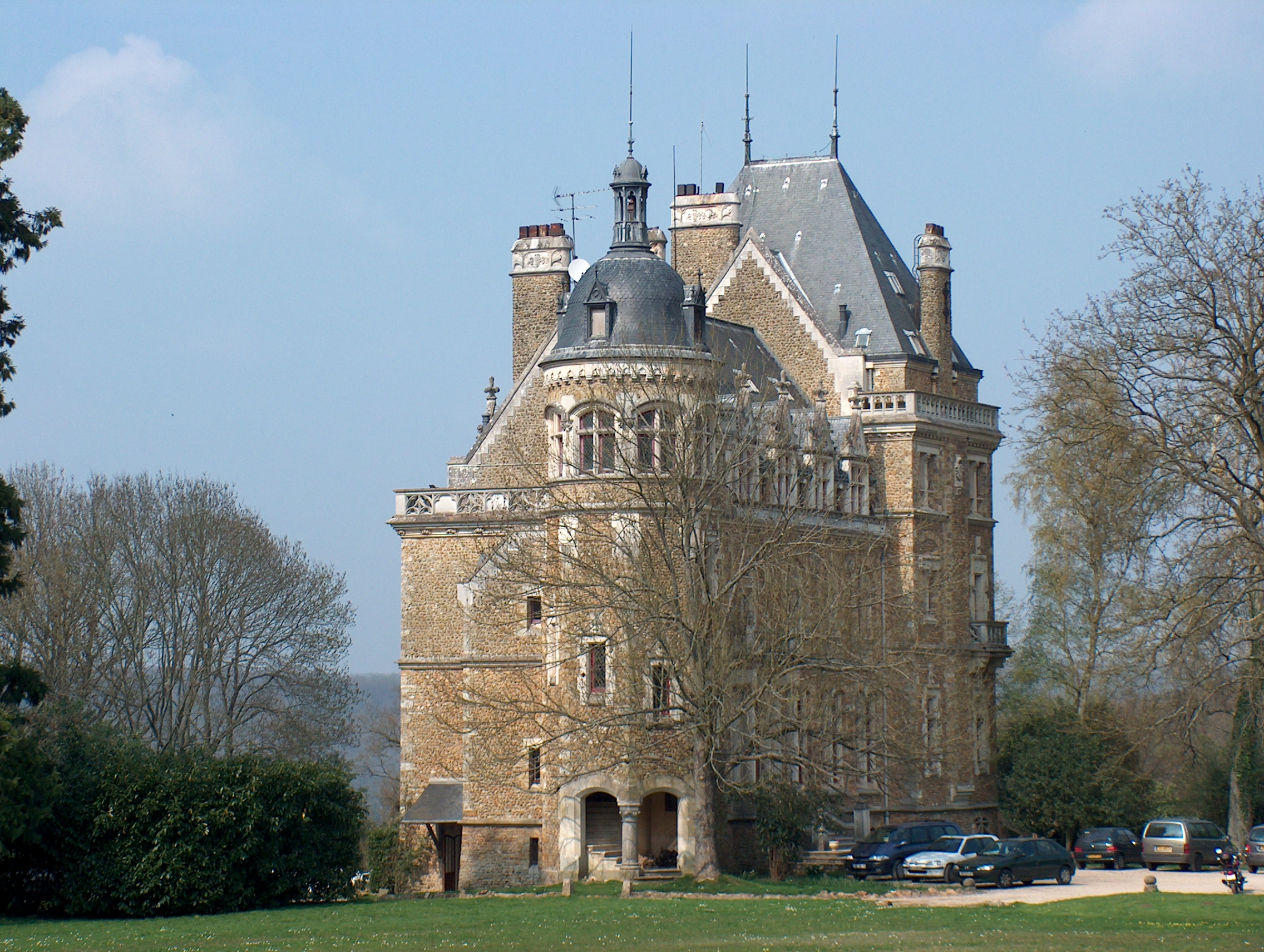 File chateau meridon yvelines wikimedia commons for Chateaux yvelines visites