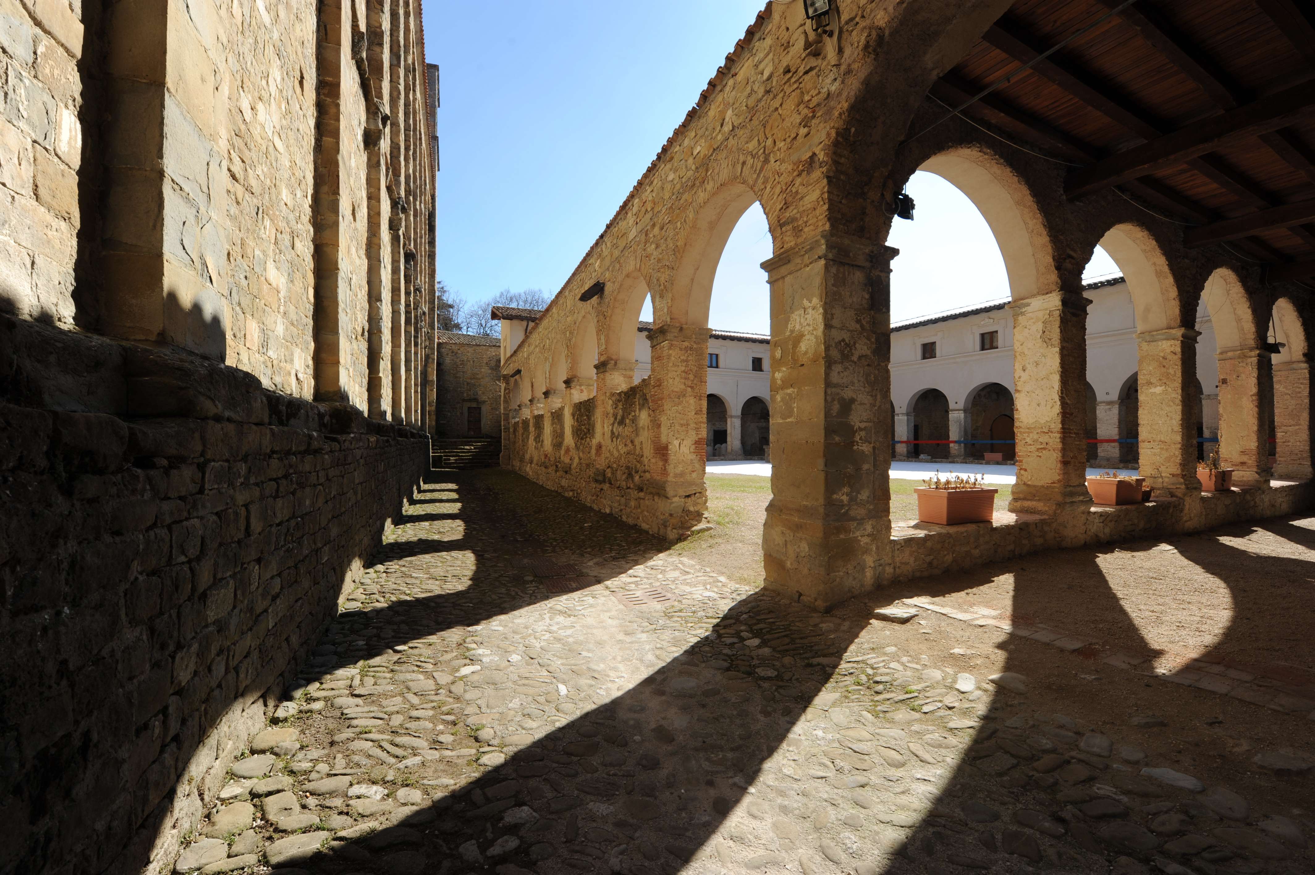 Chiostro di San Francesco ad Amatrice