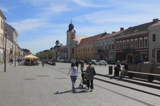 Cluj-Napoca.Bulevardul Eroilor