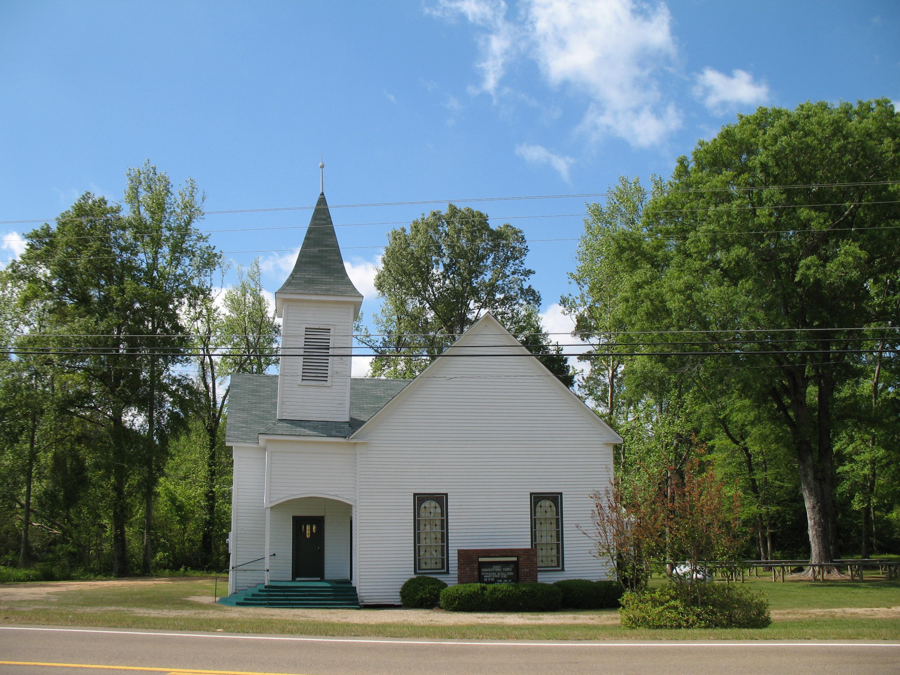 Mississippi rankin county sandhill - File Congregational Church Highway 18 Rankin County Mississippi Jpg