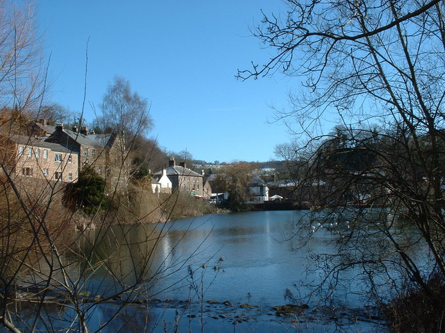 Cromford Mill Pond - geograph.org.uk - 1285705