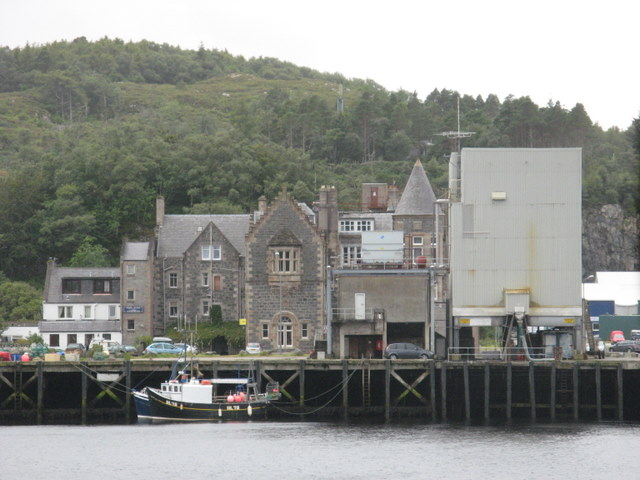 File Culag Hotel In Lochinver Geograph Org Uk 1022625 Jpg