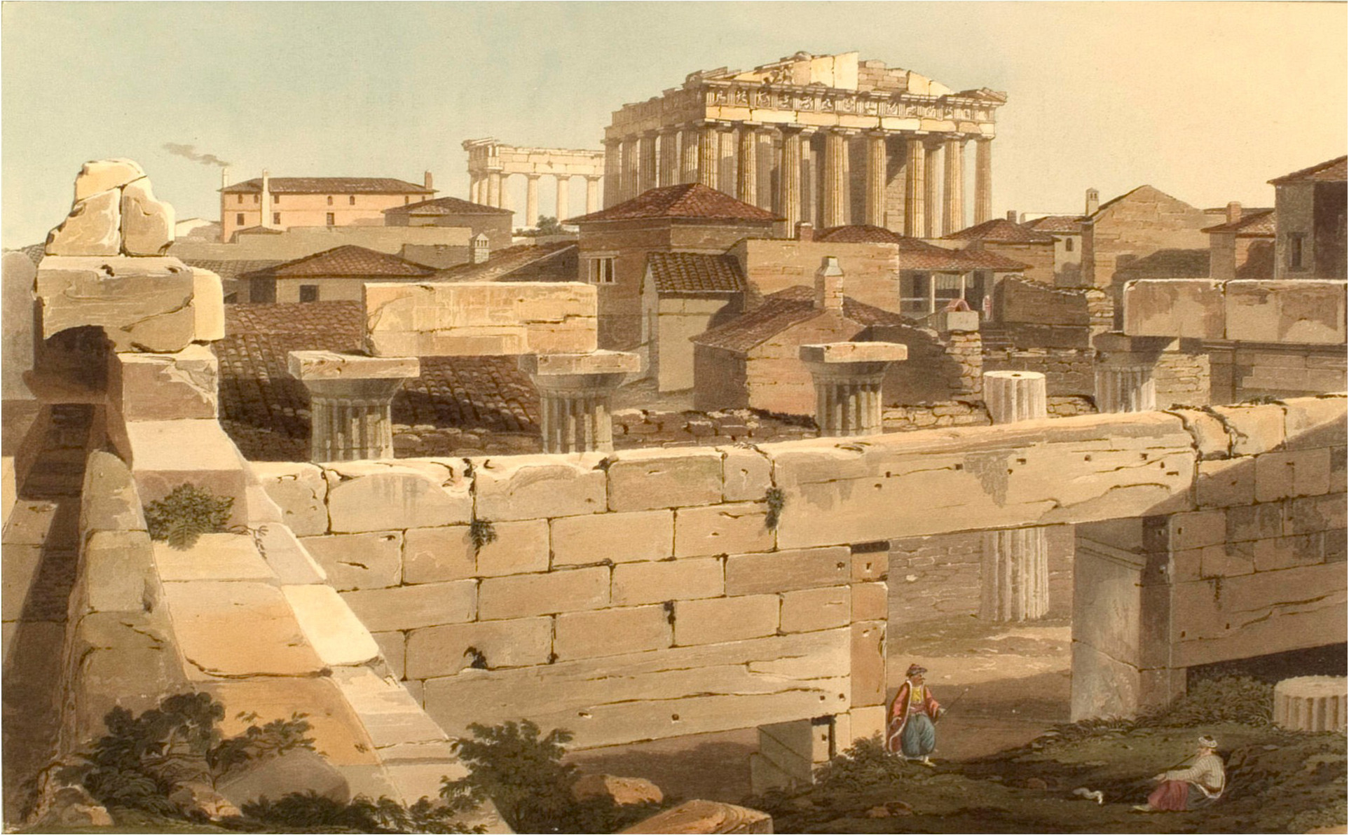 file dodwell parthenon wikimedia commons