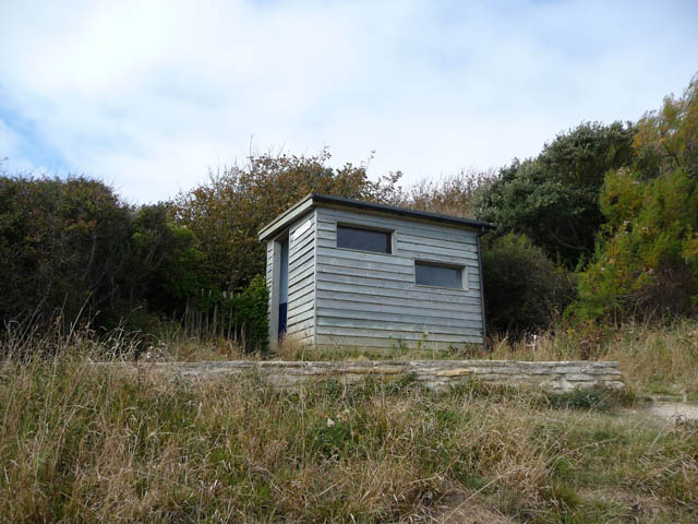 Dolphin watch hut at Durlston Country Park - geograph.org.uk - 1626610