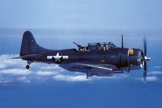 File:Douglas SBD 5 tricolor with bomb.jpg