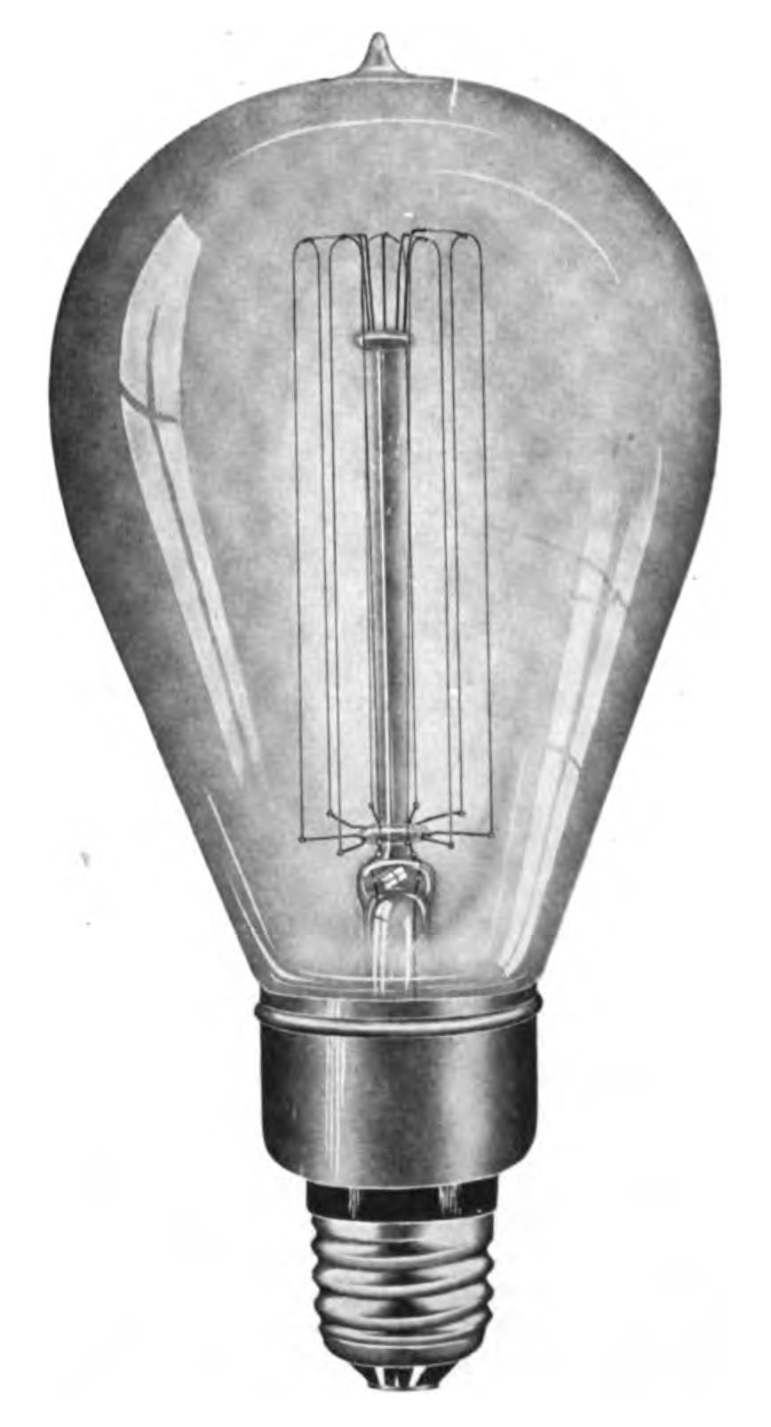 File early tungsten light wikimedia commons Tungsten light bulbs